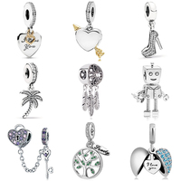 Wholesale Jewellery 925 Sterling Silver European Charms Beads for Pandora Bracelet Bangle