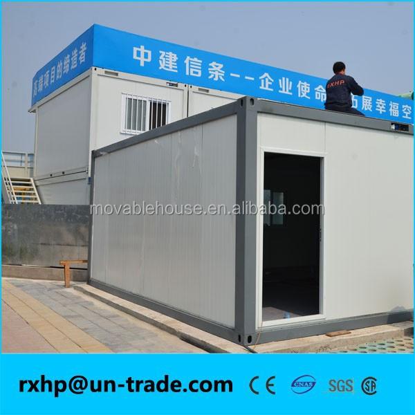 Kombiniert falten container haus zwei trennw nde for Container haus anbieter