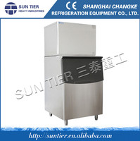 A plywood case with plate, make tranportation easier Cube Ice Machine