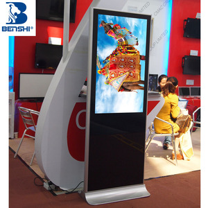 lcd tv advertising totem led full display android system advertising floor stand display