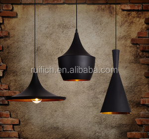 traditional iron chandelier A B C models suspension lamps for home