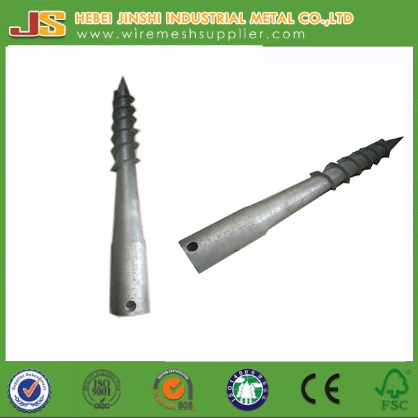 Galvanized Screw In Ground Anchor - Buy Screw Anchor,Ground Anchor,Post  Holder Product on Alibaba com