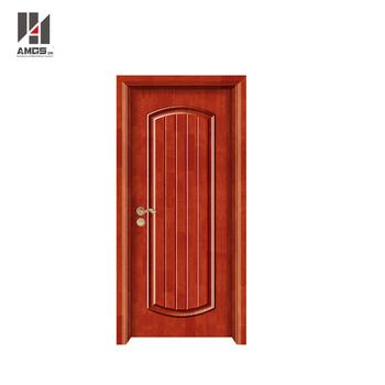 Latest Wood Panel Design Wooden Door Interior Room Mdf Door Price