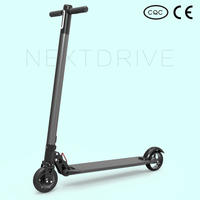NEXTDRIVE Carbon fiber foldable two wheel electric scooter