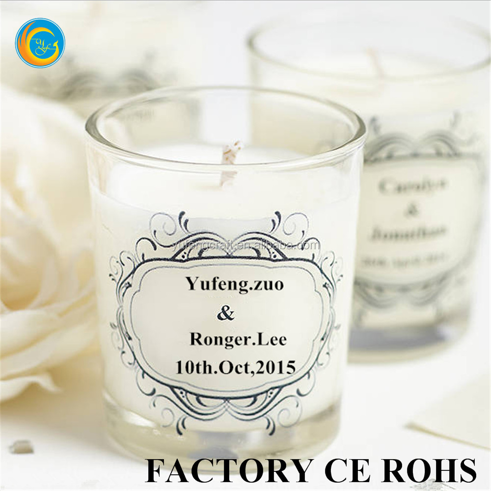 Custom Candle Wedding Favors,Gift Wedding Favor Door Gift - Buy ...