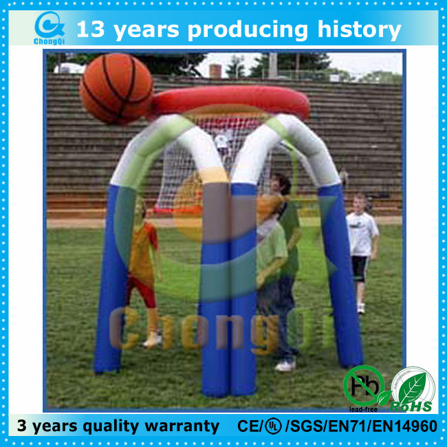 kids fun inflatable basketball game board
