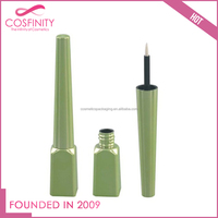 2017 Free sample empty liquid eyeliner tube, cosmetic eyeliner container with custom design