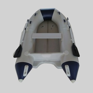 CE 3.3 m hot sale V bottom fishing/racing inflatable rowing boat with outboard motor for sale supplier JSD-330VIB