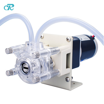 flow customized 24V motor peristaltic dosing pump