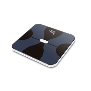 New design multifunctional 180kg ITO digital body fat smart app scale analyzer