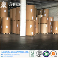 Recycled Waste Paper Material Coated Paperboard Roll Packing Customized Size