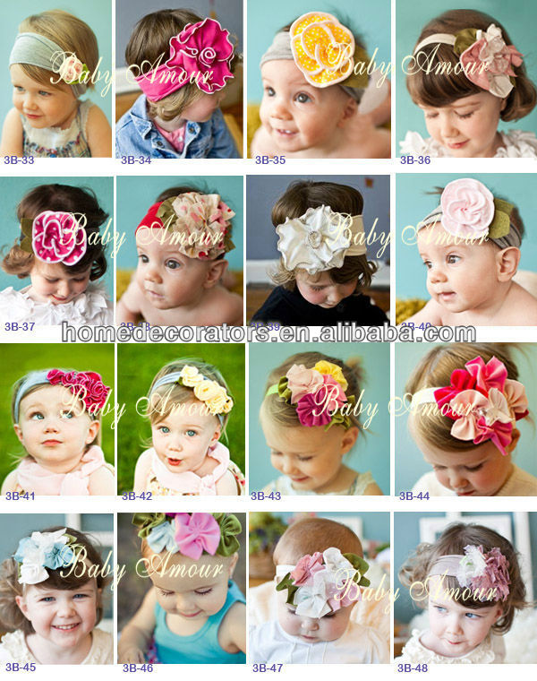 Baby Girl Hair Flower <strong>Headband</strong> for Infant Toddler