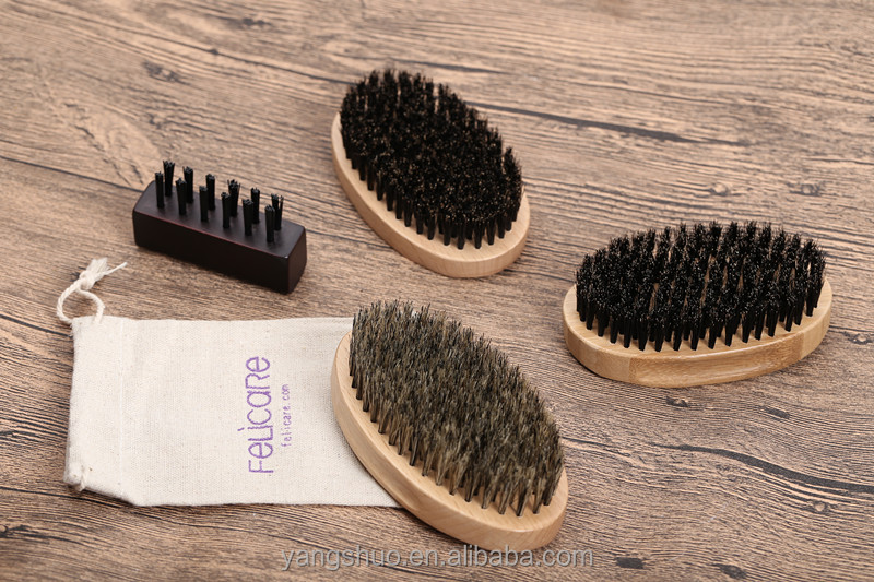 Perfect For Balms and Oils Nature boar bristle Beard Brush