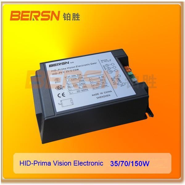 Best price 35W 70W HID Prima vision CDM electronic ballast manufacturer