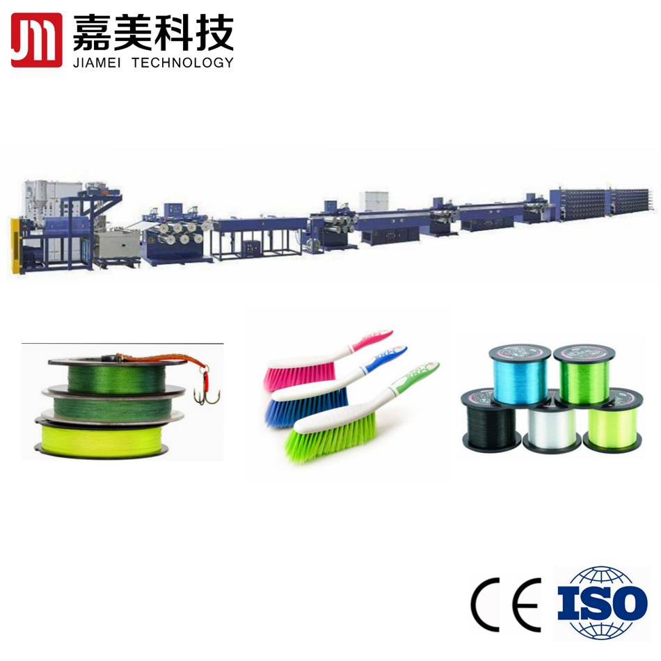PET/ PP/<strong>PE</strong>/PA Monofilament yarn fibre extruder machine/plastic filament yarn extrusion line