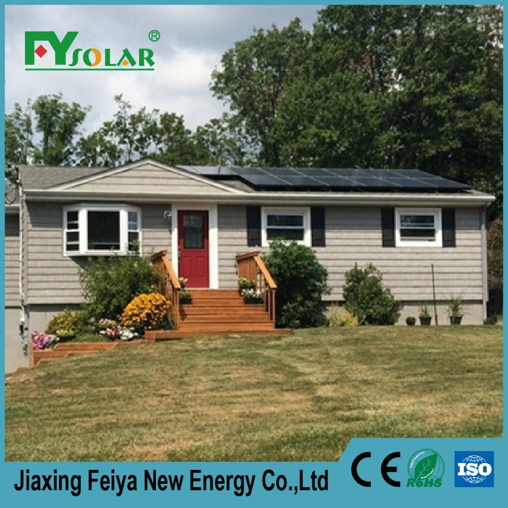 whole house electrical solar panels system 3kw/ on grid solar home system for sale