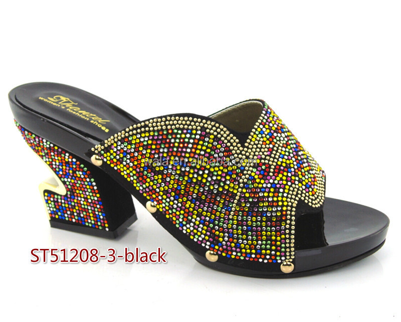 yellow sexy women leather sandals wedding shoes for 4 slippers ST51208 italian fashion 8Ixq451
