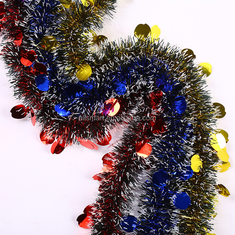 Wholesale Promotion Christmas Decoration Wired Tinsel ...