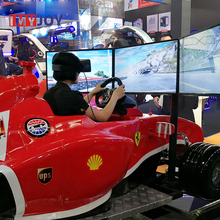 Best selling virtual reality auto 3d racing simulator cockpit games