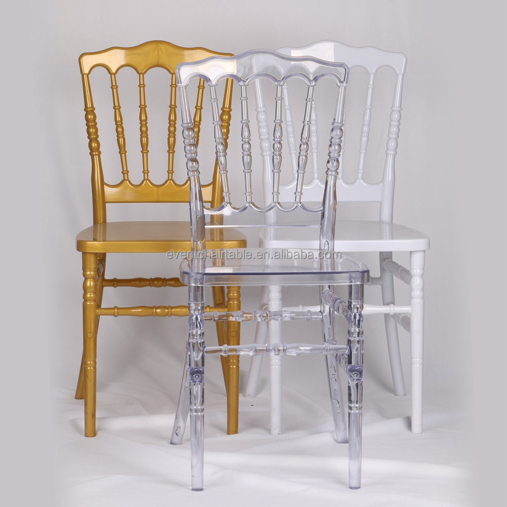 Modern wooden and resin clear napoleon chiavari tiffany phoenix ghost chair for wedding rental