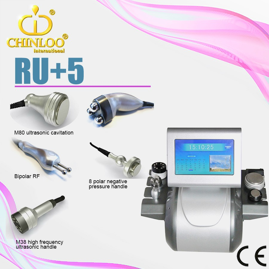 keep fit/body shape/slim/weight loss /hin body machine with RF& Cavitation- RU+5