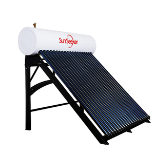 Professional design stainless steel pressurized hot water heater solar evacuated tube water heating system for home