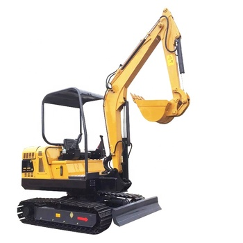 Hot sale small crawler hydraulic excavator digger machine