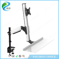 JEO WS11 cable management system 13''-17'' inch monitor stand