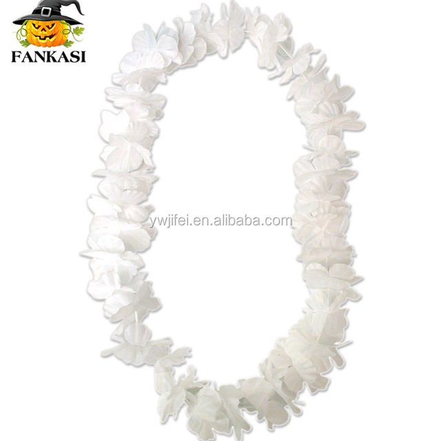 White flower leis source quality white flower leis from global white white hawaii flower necklace lei for sale mightylinksfo