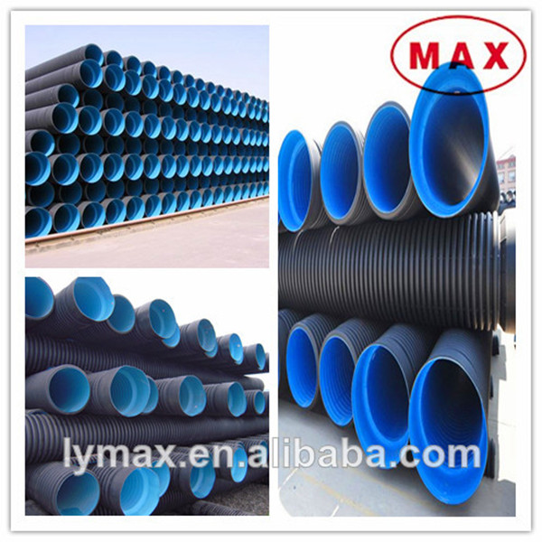HDPE Plastic Sewage Conduit, High Density Poly Dredging Pipes