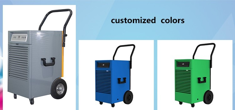 OL-508E Used Industrial Dehumidifier With Big Wheels 50L/day