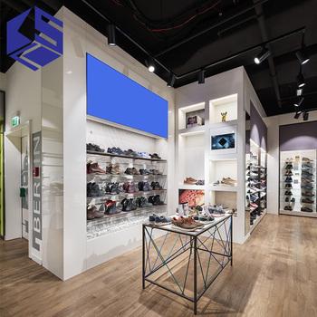 58cd471ee9f93 Yaratıcı tasarım ayakkabı mağazası dekorasyon fikirleri için erkek ayakkabıları  mağaza fikstürü
