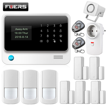 Fuers 2018 Cheap Wifi Grrs 3g Home Security Camera Siren Alarm System Buy Cheap Home Security Camera Systems Simple Safe Home Alarm System Siren