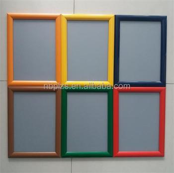 Customized Sizesaluminum Snap Framecolorful Clip Frame 11x17