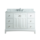 White absolute granite bathroom mirror cabinet