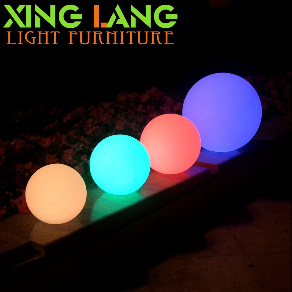 dia20cm led lampe boule jardin priv lustres d 39 clairage ip68 jardin foudre en boule dans. Black Bedroom Furniture Sets. Home Design Ideas