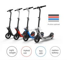 China 20km/H Mobility Electric Kick Scooter Boys Scooter Age 5 With Handle / Carbon Fiber Frame factory 20km/H Mobility Electr