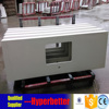 Wooden cabinet with white quartz vanity top