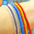 Yiwu wholesale plate multicolored color faceted crystal rondelle beads for bracelet