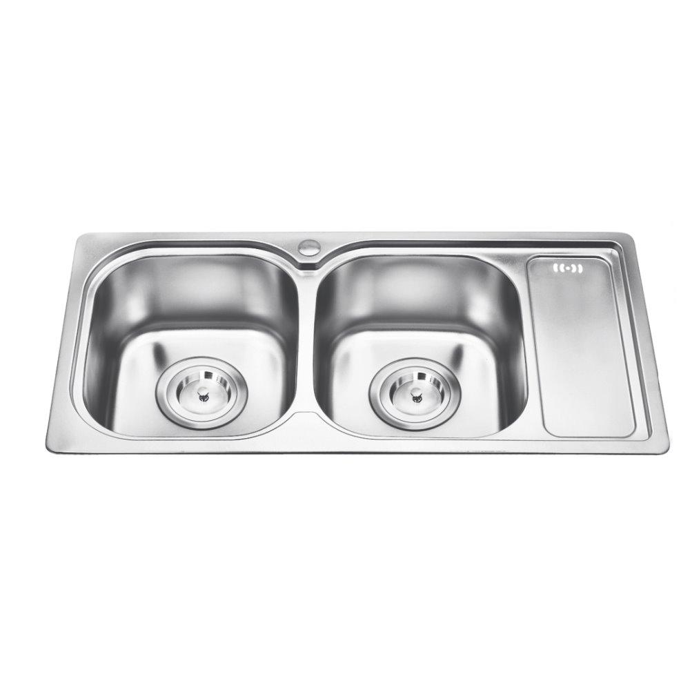 Venta al por mayor fregadero cocina-Compre online los mejores ...