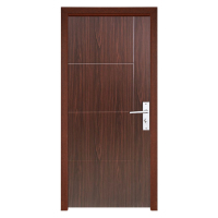 Low Price Fire Rated Plastic Latest Design Pvc Bathroom Door