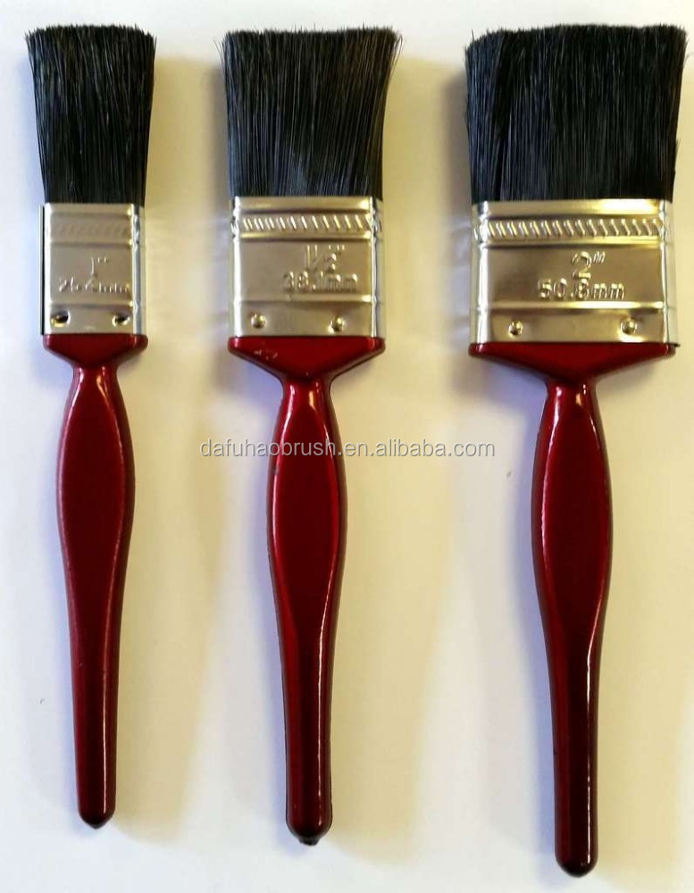 50mm paint brush/pig bristle hair paint brush/paint brush pencils