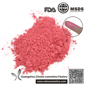 wholesale Semi-finished products carmine pearl/ carmine shimmer powder