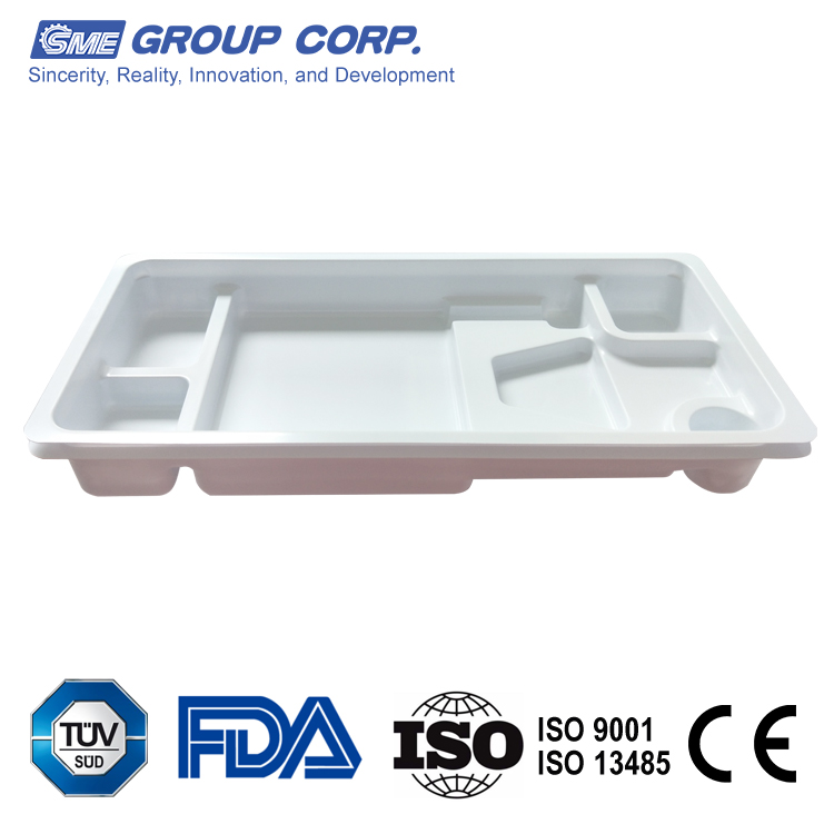Meticulously design precision-manufactured PETG thermoforming blisters trays