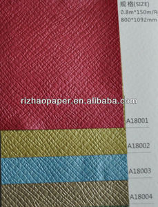 120 gsm embossed paper elephant leather texture specialty wrapping paper for box