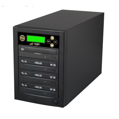 Acumen Disc 1 to 3 Target Discs DVD CD Duplicator Machine with Asus Writers Burners Optical Drives DC03SATASAS