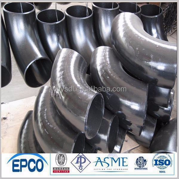 pipe fittings - ASTM/ANSI standard BW 90 deg SS stainless steel elbow ISO9000