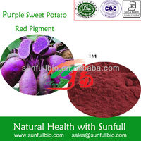 Purple sweet potato red pigmen