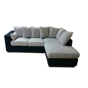 modern L shape Corner designs sofa set of home furniture