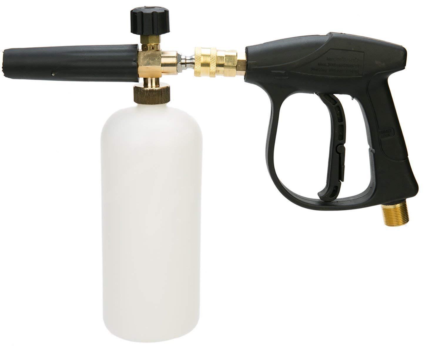 Automobiles & Motorcycles 1l High Pressure Foam Gun Water Bottle Quick Release Professional Foam Generator Car Washer Car Washer